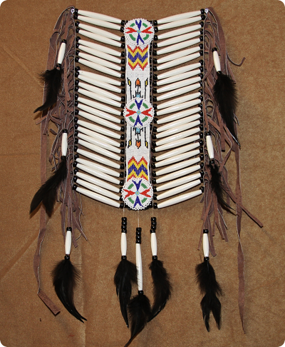 Native American Indian Breast Plate