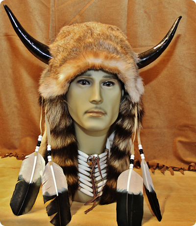 Native American Medicine Man Head Piece